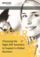 Choosing the Right ERP Solutions to Support a Global Business