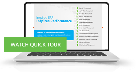 Epicor ERP Software Virtual Tour