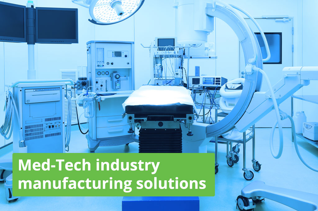Med-Tech Manufacturing Software from Epaccsys